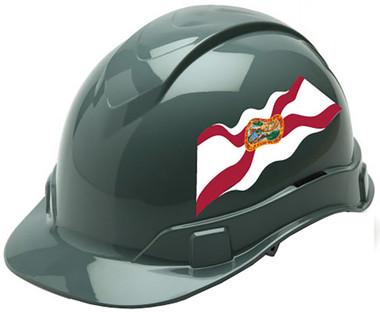 Pyramex Ridgeline Cap Style Hard Hats - Florida Flag ~ Profile