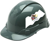 Pyramex Ridgeline Cap Style Hard Hats - Illinois Flag ~ Profile