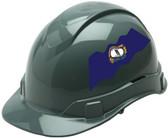 Pyramex Ridgeline Cap Style Hard Hats - Kentucky Flag ~ Profile