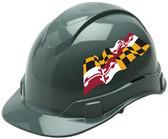 Pyramex Ridgeline Cap Style Hard Hats - Maryland Flag ~ Profile