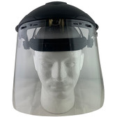 Pyramex Standard Clear Faceshield with Headgear
