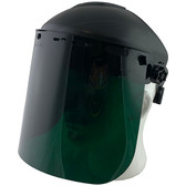 Pyramex Standard Green Faceshield with Headgear