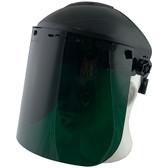 Pyramex Standard Green Faceshield with Headgear