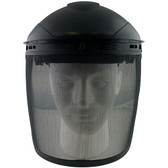 Pyramex Standard Polycarbonate Smoke Mesh Lens Faceshield with Headgear