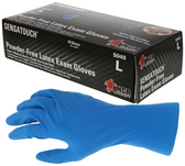 MCR Safety Powder-Free Latex Exam Gloves (50 Count)