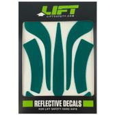 Green Reflective Decal Kit No Flash