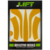DAX Yellow Reflective Decal Kit No Flash