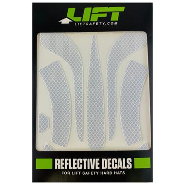 DAX White Reflective Decal Kit No Flash