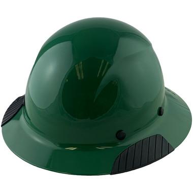 DAX Fiberglass Composite Hard Hat - Full Brim Factory Green