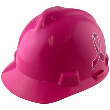 Cap Style Breast Cancer Awareness Ribbon Hard Hats