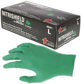 MCR Safety Powder-Free Nitrile Single Use Gloves (100 Count)
