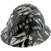 Vegas Design Full Brim Hydro Dipped Hard Hats