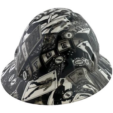 Vegas Design Full Brim Hydro Dipped Hard Hats