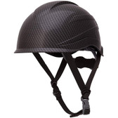 Pyramex Ridgeline XR7 Safety Helmet - Matte Black Graphite Pattern with 6 Point Suspension