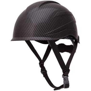 Pyramex Ridgeline XR7 Safety Helmet - Matte Black Graphite Pattern with 6 Point Suspension