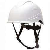Pyramex Ridgeline XR7 Safety Helmet with 6 Point Suspension - White