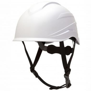 Pyramex Ridgeline XR7 Safety Helmet with 6 Point Suspension - White