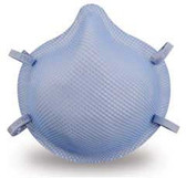 MOLDEX 1513 Series N95 Tuberculosis Respirator size Medium (20 per box), Part #MOL1513 Pic 1