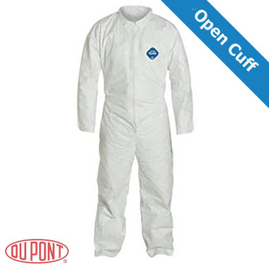 DuPont TYVEK Nonwoven Fiber Coveralls Standard Suit With Zipper Front ~ (All Sizes)