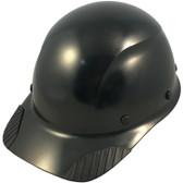 DAX Fiberglass Composite Hard Hat - Cap Style Black