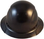 DAX Fiberglass Composite Hard Hat - Full Brim Factory Black