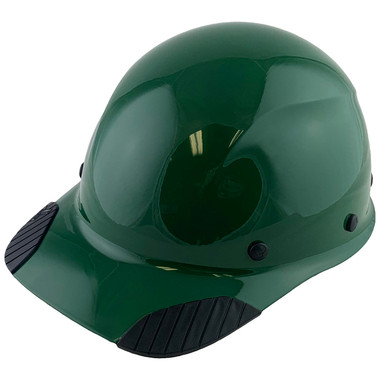 DAX Fiberglass Composite Hard Hat - Cap Style Factory Green
