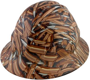 Bullets Design Full Brim Hydro Dipped Hard Hats