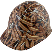 Bullets Design Cap Style Hydro Dipped Hard Hats