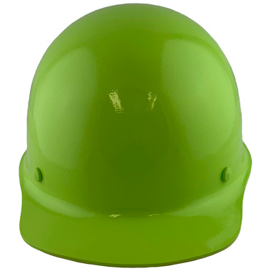 Skullgard Cap Style With STAZ ON Suspension Lime Green - Front View