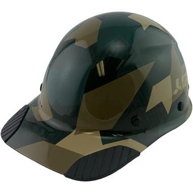 Actual Carbon Fiber Hard Hat - Cap Style Jungle Camo