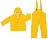 MCR 3 piece Industrial Rain suit 35mil Size Large