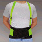 Allegro Economy Hi-Vis Back Braces