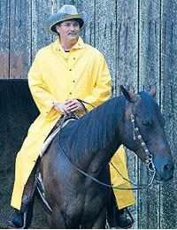 MCR 60 inch length Yellow 35 mil Rain Coats  pic 2