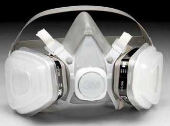 3M 5000 Half Face Respirator Kits Medium Size, Part #52P71 Pic 1