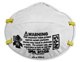 3M 8110 SMALL 8210 Design n95 Respirators 20 ct, Part #8110S pic 4