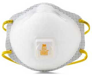 3M 8211 n95 Particulate Respirators (10 ct), Part #8211 Pic 1