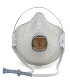 MOLDEX 2700 N95 Respirator with Handy Strap and Valve (10 per box), Part #MOL2700 Pic 1
