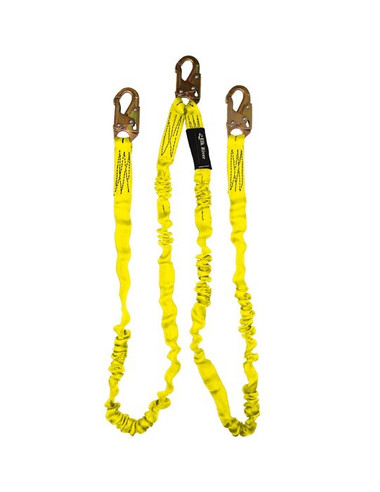Elk River NoPac Shock Absorbing Lanyard 6 foot, Twin Legs