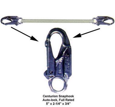 """Elk River Master Series 1/2"""" x 4' Centurion Rope Lanyard"""