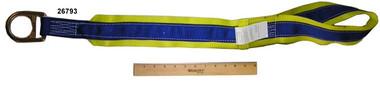 Elk River EZE Man 36 inch Tie Off Sling, 1 D-Ring,1 Eyelet