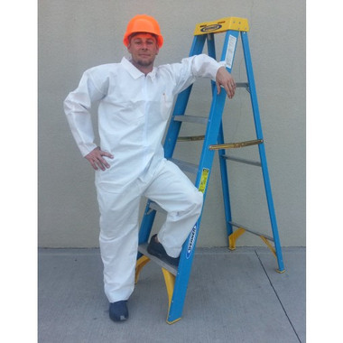 Polypropylene Heavyweight Coveralls Standard Coverall  pic 2