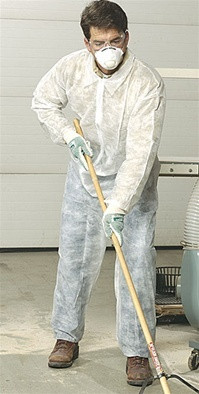 Polypropylene Coveralls w/ Elastic Wrists, Ankles   pic 1
