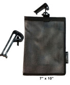 Glove Guard Mesh Bag 7 inch x 10 inch Black Pic 1