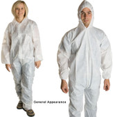 PE Coated Polypropylene Coveralls w/ Elastic Wrists  pic 4