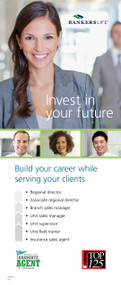 Bankers Life College Recruiting Career Paths Retractable Banner Display