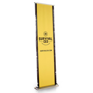 BLADE - 24 Inch Wide Retractable Banner Display