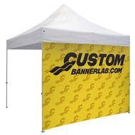 Custom Full Color Dye Sublimated Full Tent Wall