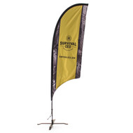 Concave Razor Feather Flag