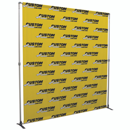 Fabric Display Booth 8ft Wall