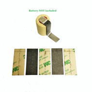 5pc Tab Insulator set for battery pack assembly   Fishpaper 3M 467M adhesive
